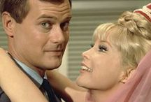 """I Dream of Jeannie / Various shots of Barbara from her time on NBC's """"I Dream of Jeannie"""" (1965-1970).  """"I Dream of Jeannie: The Complete Series"""" is now available on DVD and can be purchased from most major retailers. Here's the link to it on Amazon: http://tinyurl.com/lgxahee. The individual seasons and a special edition of the complete series (in the shape of Jeannie bottle) are also available."""