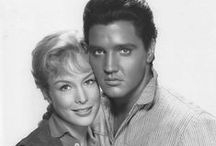 Flaming Star (Elvis & Barbara) / Shots from production and promotion of the film FLAMING STAR (1960), starring Elvis, Steve Forrest, & Barbara Eden.  FLAMING STAR is available on DVD at most major retailers. Here's the link to purchase it from Amazon: http://tinyurl.com/me3ur39
