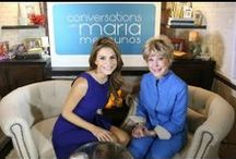 Interviews / Various photos & video clips from some of Barbara's recent TV & radio interviews.