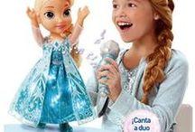 Frozen Disney / Fotos de los juguetes de la película de Frozen con Elsa, Anna y Olaf