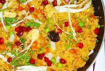 Rice -  Indian  Biryani, Pulao Recipes
