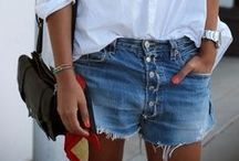 SHESAID: Blue Jean Baby / Spice-up your denim with a few of these flawless outfit ideas for the beach, bar or even at home!