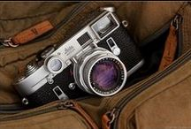 Leica / A random collection of the all-time greatest camera. It's sublime design, it's shape and above all it's silence....