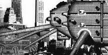 arch   utopian   future   sci-fi