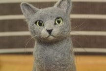 Dolls & Crafted Creations / Dolls, Needle Felting, Hand Crafted animals and creatures.