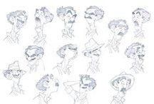 Character Design - Sketches