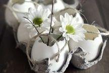 Easter / DIY, paper crafts, decoration... / by LES PETITS POIS SONT BLEUS