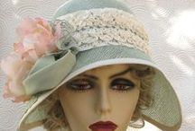 Vintage Hats, Bonnets, Gloves