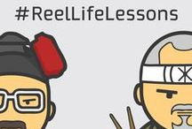 Reel Life Lessons / This Teacher's Day, we at Digitally Inspired Media wanted to pay a tribute to teachers of a different kind.   There you go, here is our minimal 'iconic' tribute to the greatest teachers in pop culture history. We thank them for their constant inspiration and their #ReelLifeLessons.   We hope you enjoy them as much we did making them Happy Teacher's Day, everyone.
