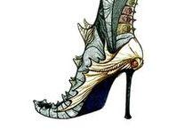 Alexander Seraphim's attempts to design footwear... / Alexander Seraphim's footwear designs of 1994-2005...