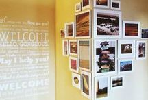 Wall Art Inspiration / Here are some ideas for creating your photo wall in your home
