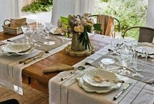 Table Settings and Home Decor