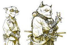 Character Design - Anthropomorphic