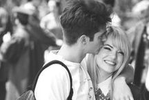 Andrew and Emma / Andrew Garfield and Emma Stone