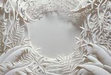 Paper | White paper / White paper creations, paper installations, paper sculptures, paper art