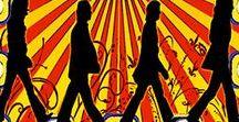 Quadrinhos em Azulejos - Bandas POP/ROCK / Quadrinhos confeccionados em Azulejo no tamanho 15x15 cm.Tem um ganchinho no verso para fixar na parede. Inspirados em Bandas POP. Para entrar em contato conosco, acesse: www.babadocerto.com.br