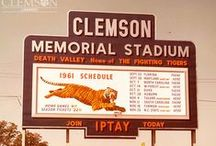 #TigerThrowbacks / Celebrating Clemson's rich history with photos of Hall of Fame legends, first sporting events, and memories we hold dear in the Clemson community.