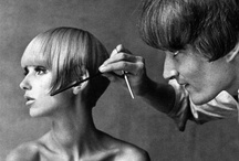 Sassoon Inspiration / Various timeless Sassoon cut and color hair styles.