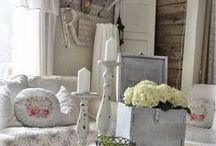 Living Room Inspiration / Inspiring design for your living room - shabby chic, Scandic and design led ideas!