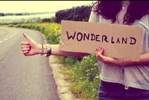 Wonderland / Real and imaginary places  #travel #trip #imagination #fairytale #romance