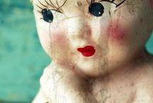 Dolls and characters / My favourite art dolls  #artdolls #paperclaydolls #needlefelteddolls #polymerclaydolls #uniquedolls #dollartist #textileart