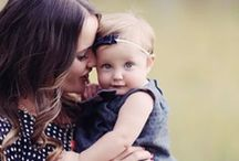 Motherhood / Cute pictures of beautiful moms with their babies and ideas mom's love/need to see! #babies #motherhood #children / by Handpressions