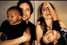 Celebrities and their Babies / Beautiful people with their even cuter kids #celebrity #kids / by Handpressions