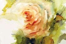 Inspiration - Watercolour / There are a lot of clever art works out there that don't really move you. Some art  speaks  to you on a very deep level, you may not know why but it repels you , excites you or attracts you. THIS IS ART.