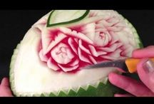 Designs in food.. / Art can be eaten too..
