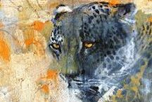 animals, birds and fish in art / animals in all mediums