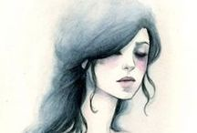 ART Aquarelle | Water Color / by Anne-Li Wilhaga