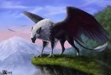 :Griffins: / A mythical creature.