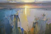 Inspiration-Landscape drawing/ painting / It is difficult to find good landscapes to paint.