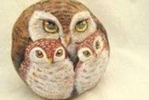 Owls Art