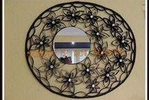 Mirrors art