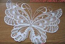 Quilling - Butterflies