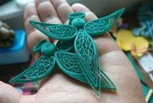 Quilling - Angel