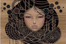 Art - Audrey Kawasaki / by Lioubov