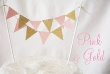 *GOLD & PINK KIDS PARTY*