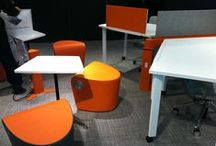NeoCon 2014 / Ultrafabrics products highlighted in customer showrooms around NeoCon 2014.