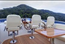 Marine / Ultrafabrics has been tested, trusted, and endorsed globally by the most reputable yacht, super yacht, cruiser, and fishing boat manufacturers.