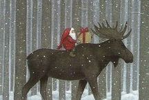 My Christmas / Charming and inspiring Christmas objets and images #christmas #snow #photography #christmas illustrations