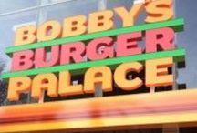 Las Vegas burgers / Travel and food