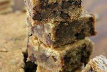 Brownies and Bars / Ooey, gooey brownies and bars. Yummmm.