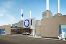 Battersea Dogs & Cats Home - New Intake Kennels / This development currently on site and due for completion in early 2015 comprises a new-build Intake Centre and a new linear Kennels Building which measures some 165 metres (1,780ft) in length.