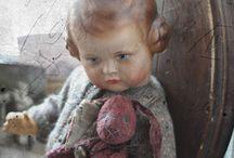 Antique and Vintage dolls / #vintagedolls #antiquedolls #dolls #vintagestyle #dollcollectors