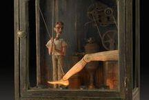 Automaton toys / antique automaton toys, automaton, art, inspiration