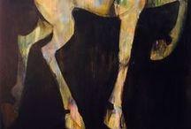Art Deerhorse / Wendy Alblas Art, kunst, hert, paard, Deerhorse
