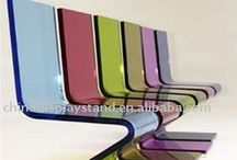 Collection: Acrylic Furniture / Ideas for furnitures made of acryl