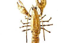 Wendy Alblas beelden, sculpturen, brons, was / #Sculpture art , #horses , #Bronssculpturen #lobster , #beelden , # Brons